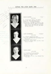 Page 12, 1934 Edition, Hannah More School - Within the Lych Gate Yearbook (Reisterstown, MD) online yearbook collection