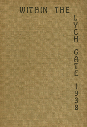 1938 Edition, Hannah More School - Within the Lych Gate Yearbook (Reisterstown, MD)