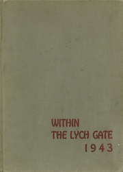 1943 Edition, Hannah More School - Within the Lych Gate Yearbook (Reisterstown, MD)