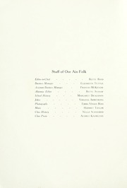 Page 6, 1922 Edition, Wallace School and Conservatory - Oor Ain Folk Yearbook (Columbus, OH) online yearbook collection