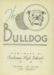 Page 7, 1947 Edition, Coahoma High School - Bulldog Yearbook (Coahoma, TX) online yearbook collection