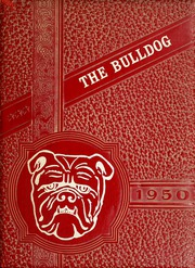 1950 Edition, Coahoma High School - Bulldog Yearbook (Coahoma, TX)