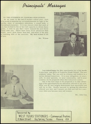 Page 11, 1951 Edition, Coahoma High School - Bulldog Yearbook (Coahoma, TX) online yearbook collection