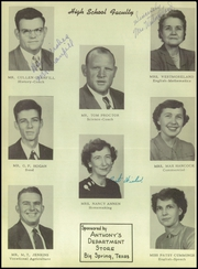 Page 12, 1951 Edition, Coahoma High School - Bulldog Yearbook (Coahoma, TX) online yearbook collection