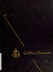 1971 Edition, London Central Secondary School - Golden Glimpses Yearbook (London, Ontario Canada)