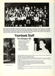 Page 12, 1983 Edition, London Central Secondary School - Golden Glimpses Yearbook (London, Ontario Canada) online yearbook collection