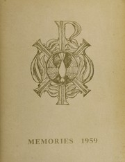 Page 1, 1959 Edition, St Pius X Catholic High School - Golden Echoes Yearbook (Atlanta, GA) online yearbook collection
