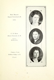 Page 17, 1923 Edition, Winchester Community High School - Golden Era Yearbook (Winchester, IN) online yearbook collection
