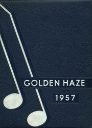 1957 Edition, Akron High School - Golden Haze Yearbook (Akron, IN)