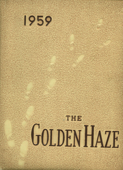 1959 Edition, Akron High School - Golden Haze Yearbook (Akron, IN)