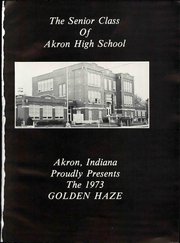 Page 7, 1973 Edition, Akron High School - Golden Haze Yearbook (Akron, IN) online yearbook collection