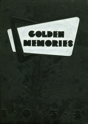 1953 Edition, Sylvan Hills High School - Golden Memories Yearbook (Atlanta, GA)