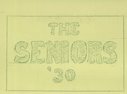 Page 11, 1930 Edition, Coloma High School - Gold Leaf Yearbook (Coloma, MI) online yearbook collection