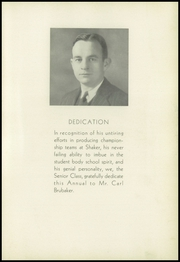 Page 9, 1934 Edition, Shaker Heights High School - Gristmill Yearbook (Shaker Heights, OH) online yearbook collection