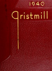 1940 Edition, Shaker Heights High School - Gristmill Yearbook (Shaker Heights, OH)