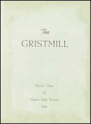 Page 5, 1944 Edition, Shaker Heights High School - Gristmill Yearbook (Shaker Heights, OH) online yearbook collection