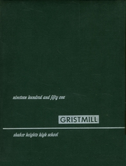 Page 1, 1951 Edition, Shaker Heights High School - Gristmill Yearbook (Shaker Heights, OH) online yearbook collection