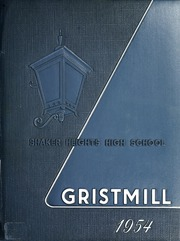 1954 Edition, Shaker Heights High School - Gristmill Yearbook (Shaker Heights, OH)