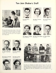 Page 11, 1955 Edition, Shaker Heights High School - Gristmill Yearbook (Shaker Heights, OH) online yearbook collection