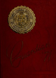 1971 Edition, Saint Joseph Academy - Guardian Yearbook (St Augustine, FL)