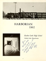 Page 6, 1962 Edition, Harbor Creek High School - Harborian Yearbook (Erie, PA) online yearbook collection