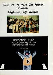 Page 5, 1988 Edition, Harbor Creek High School - Harborian Yearbook (Erie, PA) online yearbook collection
