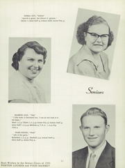 Page 15, 1953 Edition, Sand Creek High School - Harvester Yearbook (Sand Creek, MI) online yearbook collection