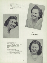 Page 17, 1953 Edition, Sand Creek High School - Harvester Yearbook (Sand Creek, MI) online yearbook collection