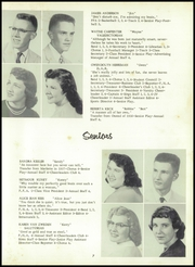 Page 17, 1958 Edition, Sand Creek High School - Harvester Yearbook (Sand Creek, MI) online yearbook collection
