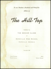 Page 8, 1946 Edition, Hapeville High School - Hilltop Yearbook (Hapeville, GA) online yearbook collection