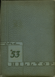 Page 1, 1953 Edition, Hapeville High School - Hilltop Yearbook (Hapeville, GA) online yearbook collection