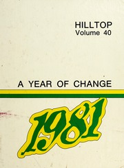 Page 1, 1981 Edition, Hapeville High School - Hilltop Yearbook (Hapeville, GA) online yearbook collection