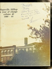 Page 5, 1981 Edition, Hapeville High School - Hilltop Yearbook (Hapeville, GA) online yearbook collection