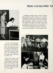 Page 14, 1952 Edition, Thomas Carr Howe Community High School - Hilltopper Yearbook (Indianapolis, IN) online yearbook collection