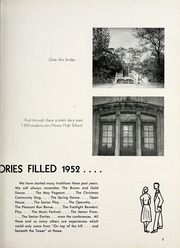 Page 9, 1952 Edition, Thomas Carr Howe Community High School - Hilltopper Yearbook (Indianapolis, IN) online yearbook collection
