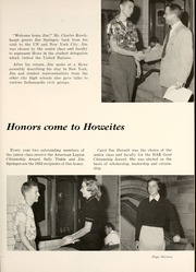 Page 17, 1954 Edition, Thomas Carr Howe Community High School - Hilltopper Yearbook (Indianapolis, IN) online yearbook collection
