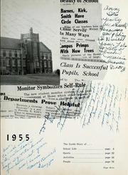 Page 7, 1955 Edition, Thomas Carr Howe Community High School - Hilltopper Yearbook (Indianapolis, IN) online yearbook collection