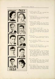 Page 14, 1935 Edition, James Whitcomb Riley High School - Hoosier Poet Yearbook (South Bend, IN) online yearbook collection