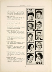 Page 15, 1935 Edition, James Whitcomb Riley High School - Hoosier Poet Yearbook (South Bend, IN) online yearbook collection
