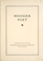 Page 7, 1935 Edition, James Whitcomb Riley High School - Hoosier Poet Yearbook (South Bend, IN) online yearbook collection