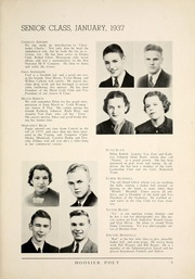 Page 11, 1937 Edition, James Whitcomb Riley High School - Hoosier Poet Yearbook (South Bend, IN) online yearbook collection