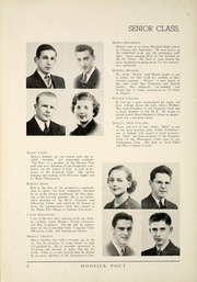 Page 12, 1937 Edition, James Whitcomb Riley High School - Hoosier Poet Yearbook (South Bend, IN) online yearbook collection