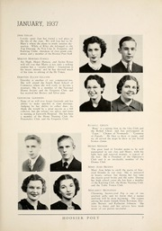 Page 13, 1937 Edition, James Whitcomb Riley High School - Hoosier Poet Yearbook (South Bend, IN) online yearbook collection