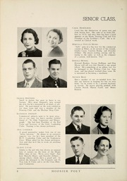 Page 14, 1937 Edition, James Whitcomb Riley High School - Hoosier Poet Yearbook (South Bend, IN) online yearbook collection