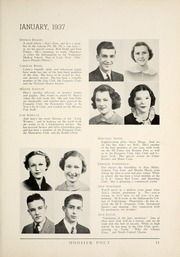 Page 17, 1937 Edition, James Whitcomb Riley High School - Hoosier Poet Yearbook (South Bend, IN) online yearbook collection