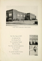 Page 8, 1937 Edition, James Whitcomb Riley High School - Hoosier Poet Yearbook (South Bend, IN) online yearbook collection