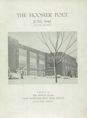 Page 3, 1945 Edition, James Whitcomb Riley High School - Hoosier Poet Yearbook (South Bend, IN) online yearbook collection