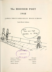 Page 5, 1948 Edition, James Whitcomb Riley High School - Hoosier Poet Yearbook (South Bend, IN) online yearbook collection