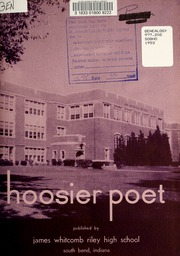 Page 3, 1953 Edition, James Whitcomb Riley High School - Hoosier Poet Yearbook (South Bend, IN) online yearbook collection