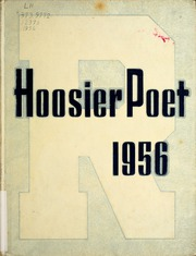 1956 Edition, James Whitcomb Riley High School - Hoosier Poet Yearbook (South Bend, IN)